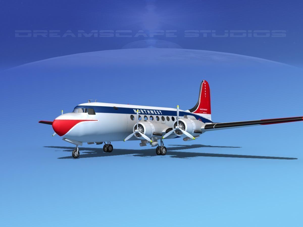 Douglas DC-4 Northwest Airlines