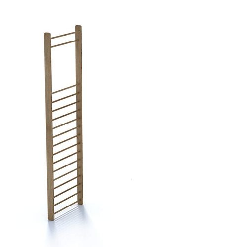 modern wood ladder 3d model  1