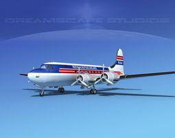 Douglas DC-4 Reeve Aleutian 3D