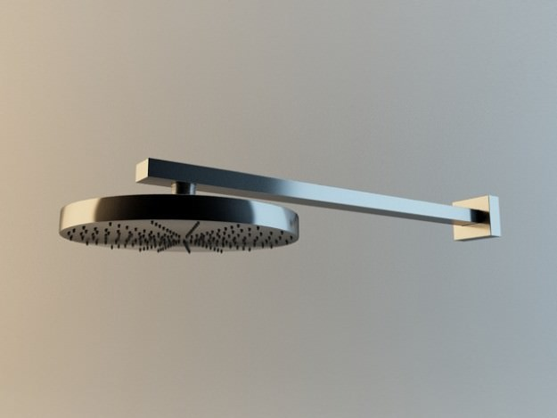 Shower head collection 3D Model .max