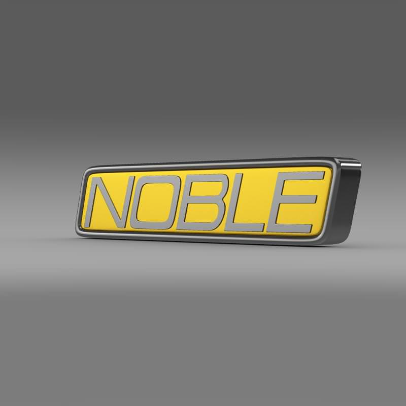 Noble Logo 3D Model .max .obj .3ds .fbx .c4d .lwo .lw .lws- CGTrader.com  Noble Logo 3D M...