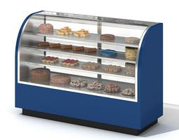bakery display storage 3d model