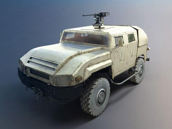 Military Vehicle Truck3D model