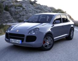 Porsche Cayenne 3D Model