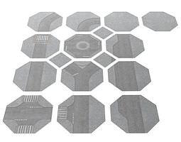 Hexagonal Dynamic Puzzle 3D model