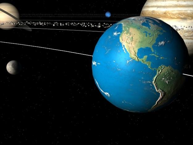 Solar System 3d Model Animated Rigged Max Cgtrader Com