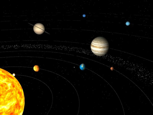 3D Solar System Model - Pics about space