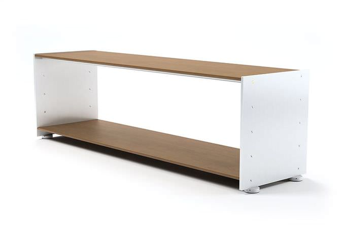 Brown And White Television Stand3D model