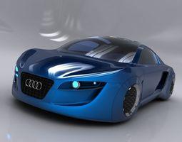 Audi RSQ Concept 3D model