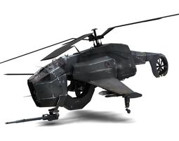 3D Combine Helicopter - Hunter-Chopper
