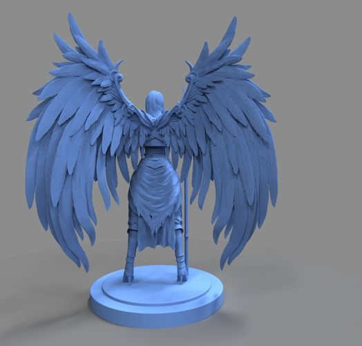 angel 3d model obj mtl ztl 1