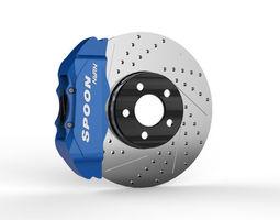Brake Disc Spoon 3D