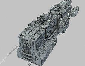 3D Light Cruiser - Preacher class