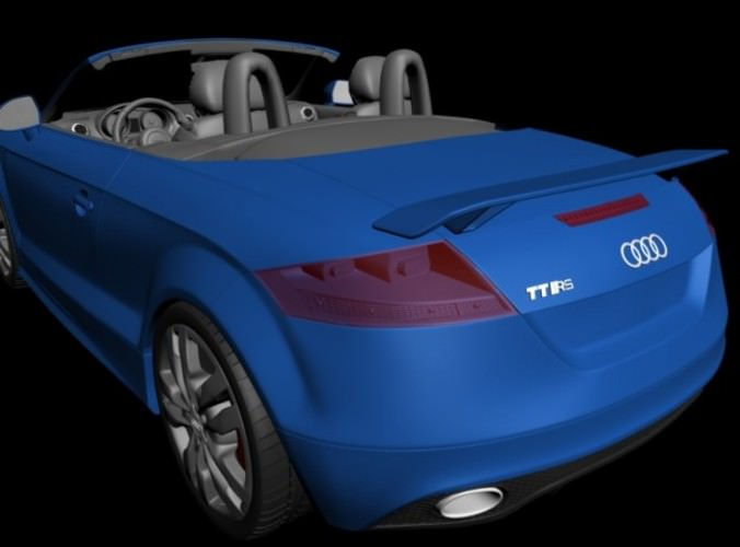 Audi TT collection 3D Model .max .obj .3ds .fbx
