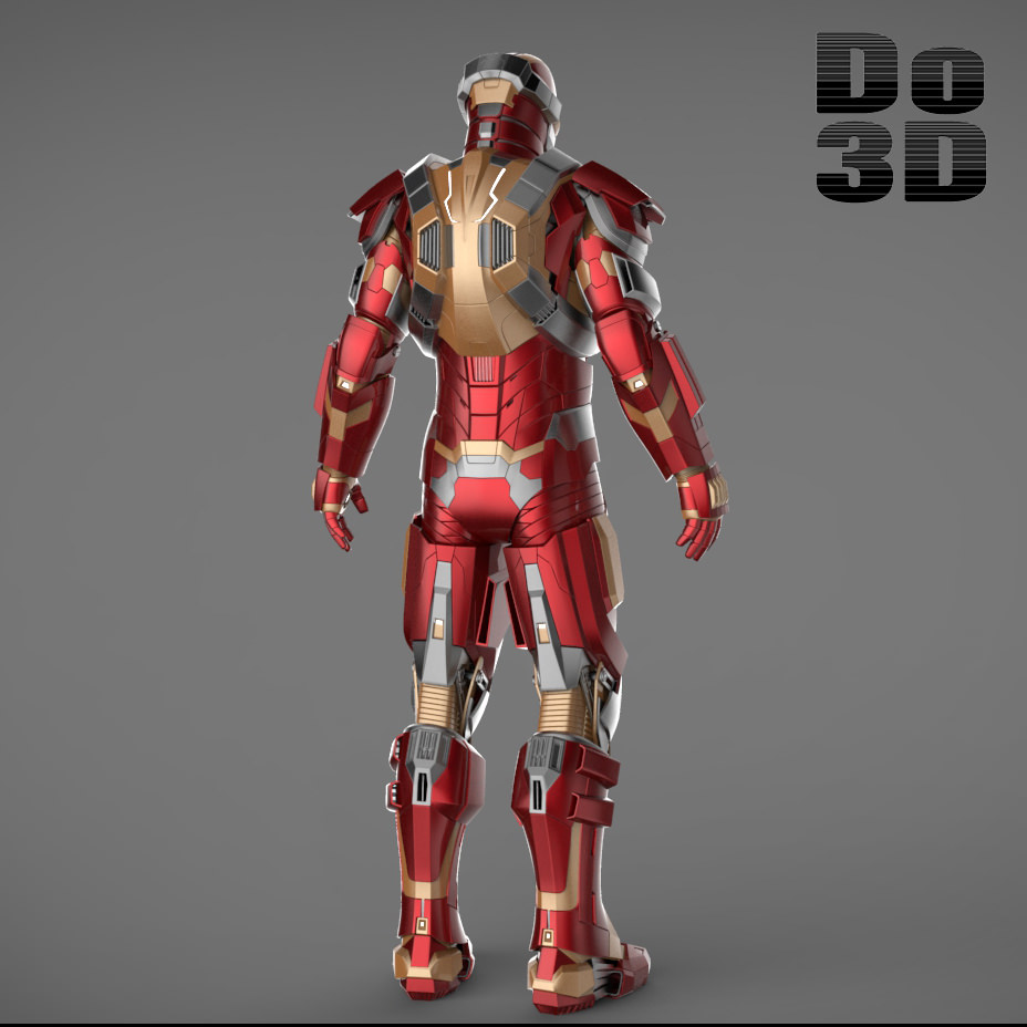 Iron Man 3 Suits - Mark 42 Patriot Mark 17