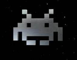 3D model Classic Space Invader