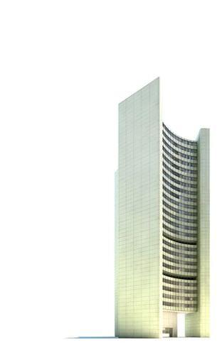 Tall Building  Skyscraper3D model