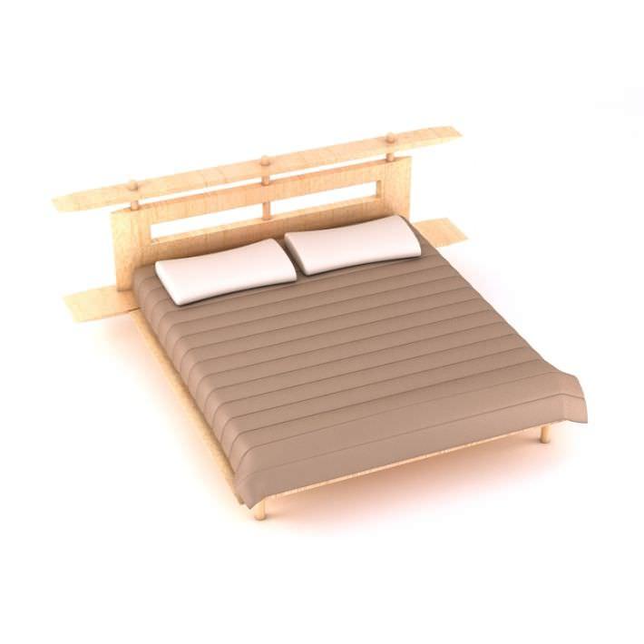Luxury platform bed 3d model - Luxury platform beds ...