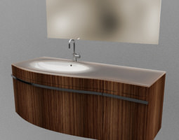 Bathroom set 01 3D model