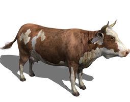 cow hi-res 3d model