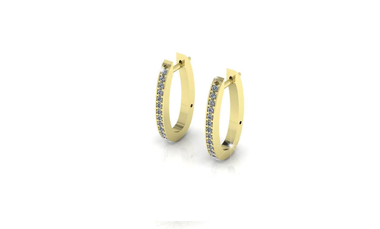diamond earrings model - photo #18