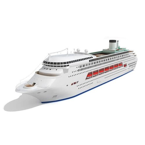 Luxury Cruise Ship 3D  CGTrader