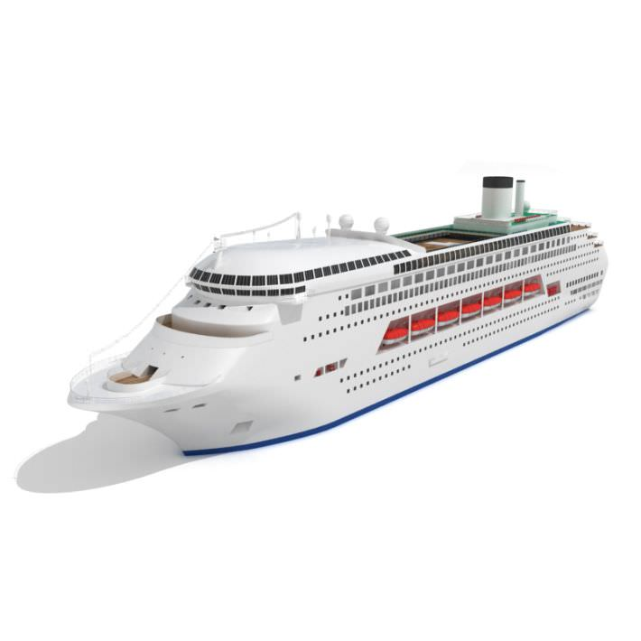 Luxury Cruise Ship 3D Model  CGTrader