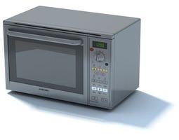 3D High Tech Microwave