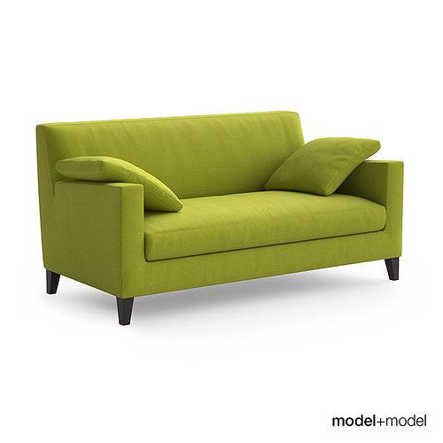 Ligne Roset Citta Sofa And Armchair 3d Model Cgtrader