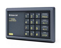 vision ltd 2 channel automatic speech dialer 3d