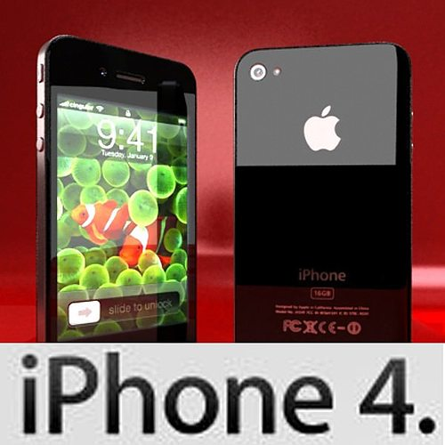 how to transfer video from iphone to computer 3d model apple iphone 4 high detail cgtrader 3433