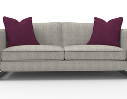 couch 3D model BALDWIN SOFA