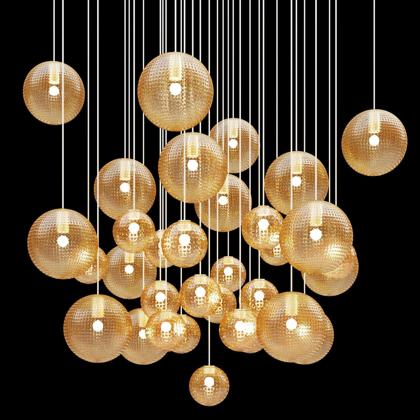 Vistosi bolle chandelier 3d cgtrader vistosi bolle chandelier 3d model max obj 3ds fbx mtl 3 aloadofball Images