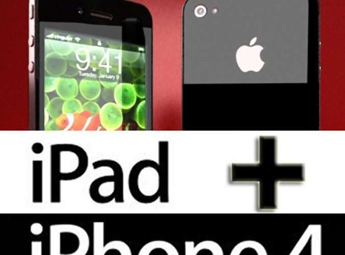 Apple iPhone 43D model