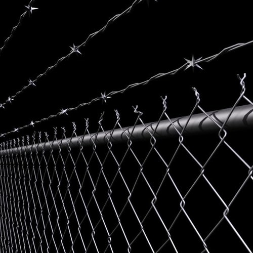 Chainlink Fence Barbed Wire High Detail 3d Model Max Obj