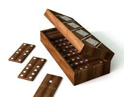 3D Wooden Dominoes Game