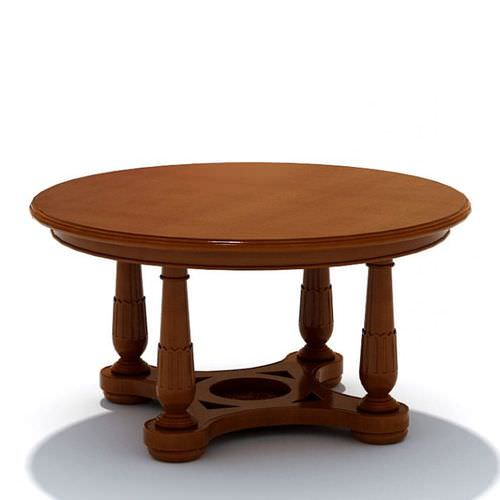 Wooded Coffee Table3D model