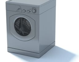 Modern Washing Machine 3D