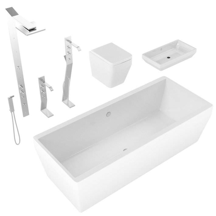 Wonderful Plain Jane White Bathrooms Are Easy To Work With Because The  Changing Out Plumbing Fixtures Can Make A Big Impact In A Bathroom Reno Changing Out The