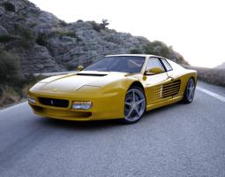 Ferrari Testarossa 3D Model