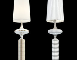 Cosmo cx-1374C floor lamp 3D model