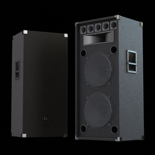 Big Black Speakers 3D Model - CGTrader.com: www.cgtrader.com/3d-models/electronics/audio/big-black-speakers