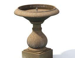 3D Garden Fountain