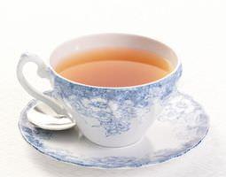 China Tea Cup And Saucer 3D