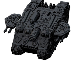 moon raider tactical tank cruciatus 3d print model