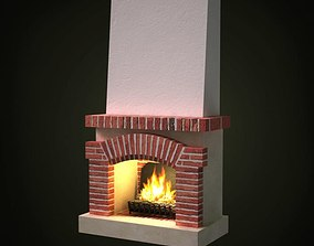 Indoor Fireplace 3D