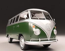 3D VW KOMBI 1967