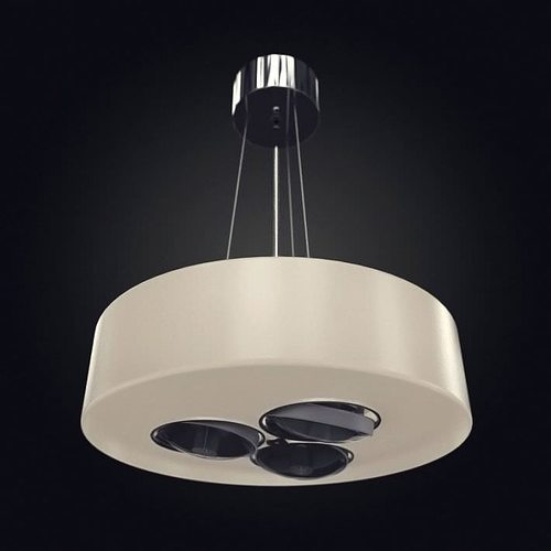 ceiling modern lamp 3d model obj 1