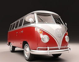 3D VW KOMBI 67