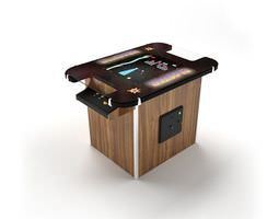 3D model 80 s Style Video Game Machine
